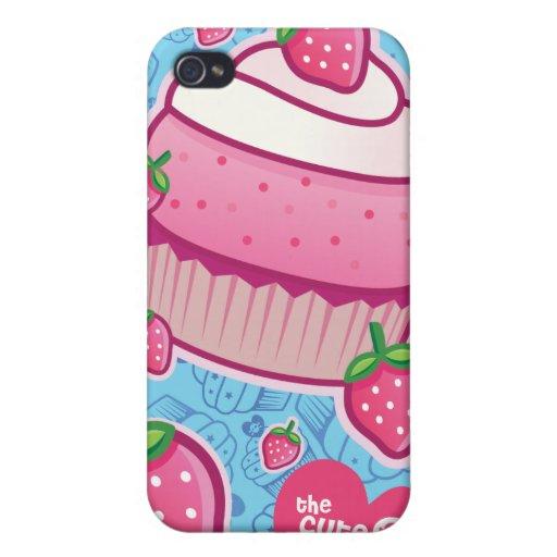 magdalenas de la baya iPhone 4 protector