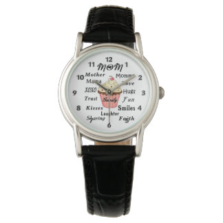 Magdalenas de la familia de la mamá relojes de pulsera