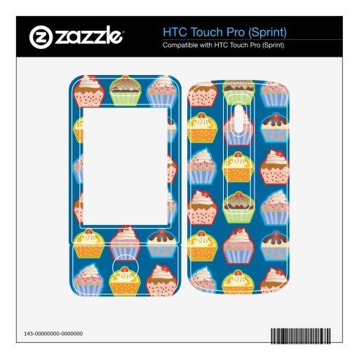 Magdalenas de Lotsa azules HTC Touch Pro Skins