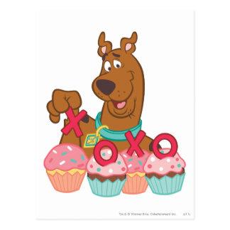 Magdalenas de Scooby Doo - de Scooby XOXO Postal