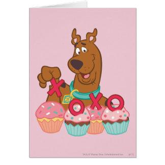 Magdalenas de Scooby Doo - de Scooby XOXO Felicitación