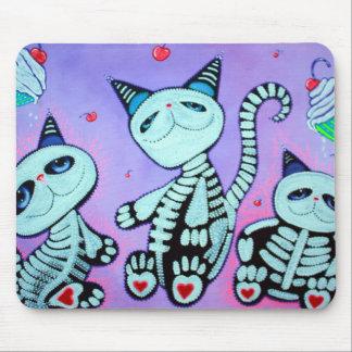 Magdalenas del gato del gatito mouse pad