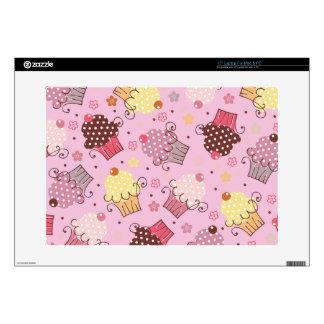 Magdalenas en rosa calcomanías para 38,1cm portátiles