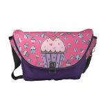 Magdalenas lindas (azules/rosa/púrpura) bolsas de mensajeria