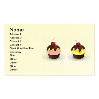 magdalenas, nombre, dirección 1, dirección 2, cont plantilla de tarjeta personal