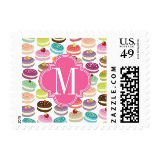 Magdalenas personalizadas sellos