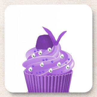Magdalenas púrpuras deliciosas posavaso