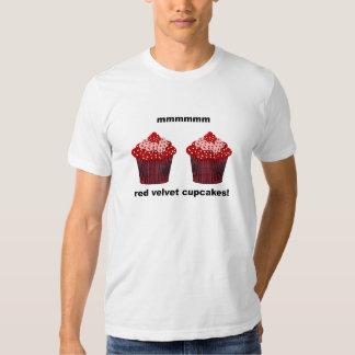 magdalenas rojas del terciopelo playera