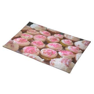 Magdalenas rosadas manteles individuales