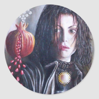 MAGDALENE CLASSIC ROUND STICKER