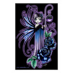 """Magdalene"" Gothic Blue Rose Fairy Posters"