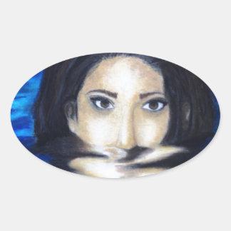 Magdalene Oval Sticker