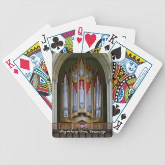 Magdeburg Cathedral organ playing cards