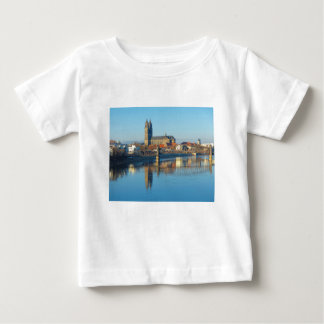 Magdeburg Cathedral with river Elbe 01 Baby T-Shirt