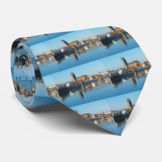 Magdeburg Cathedral with river Elbe 01 Tie