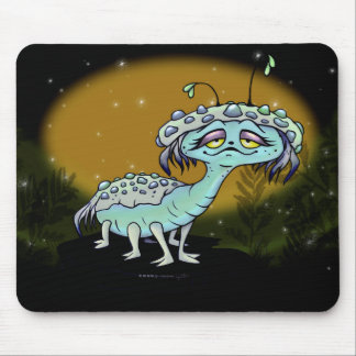 MAGE ALIEN MONSTER CUTE CARTOON MOUSE PAD