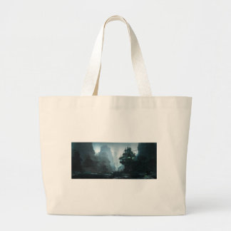 Mage House Of Wisdom Large Tote Bag