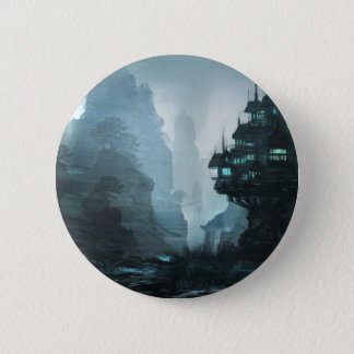 Mage House Of Wisdom Pinback Button