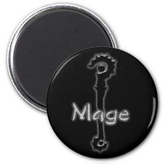 mage stave magnet refrigerator magnet