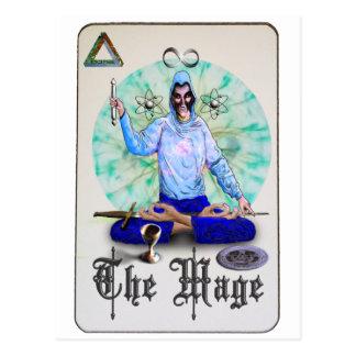 Mage Tarot Postcard