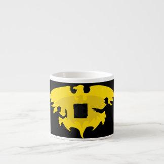 Mage, Thief, and Dayhawk Espresso Cup