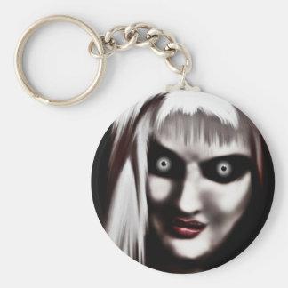 Magee Basic Round Button Keychain