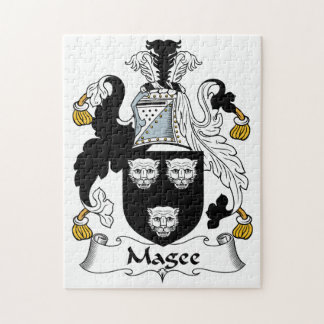 Magee Family Crest Jigsaw Puzzle