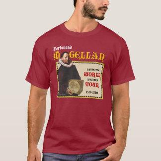 Magellan 1519 Round World Tour (Men's Dark) T-Shirt