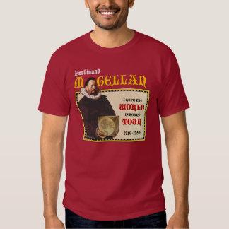 Magellan 1519 World Tour (Men's Dark Front) Tee Shirt