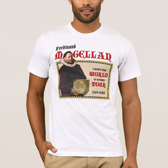 Magellan 1519 World Tour (Men's Light Front) T-Shirt