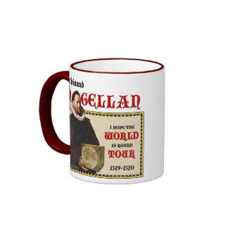 Magellan 1519 World Tour (Mug/Stein) Ringer Mug
