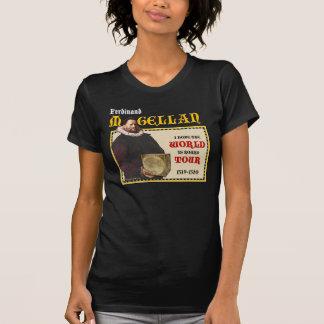 Magellan 1519 World Tour (Women's Dark Front) T-Shirt