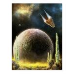 Magellan Explorer: Universe Surface - Postcard