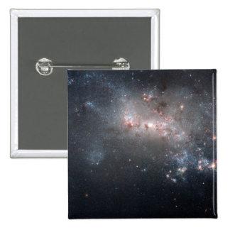 Magellanic dwarf irregular galaxy NGC 4449 2 Inch Square Button