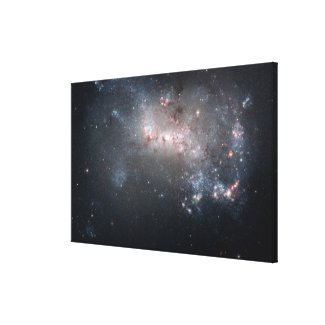Magellanic dwarf irregular galaxy NGC 4449 Canvas Print