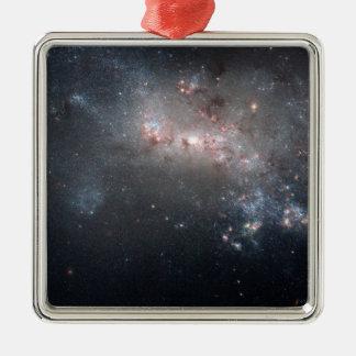 Magellanic dwarf irregular galaxy NGC 4449 Metal Ornament
