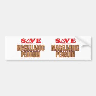 Magellanic Penguin Save Bumper Sticker