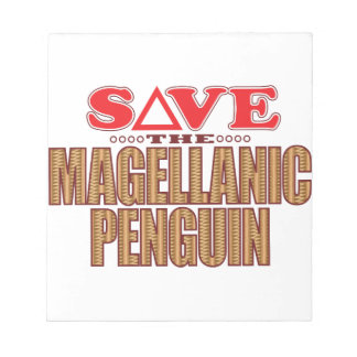 Magellanic Penguin Save Notepad