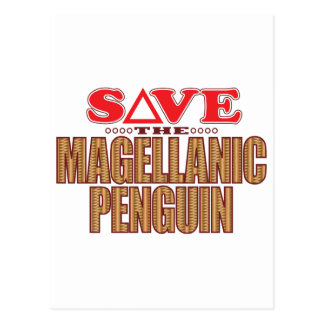 Magellanic Penguin Save Postcard