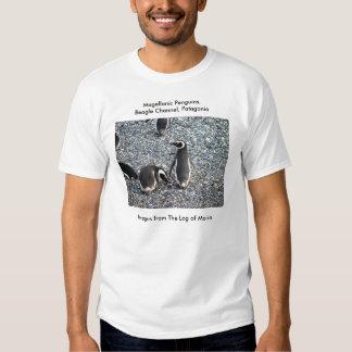 Magellanic Penguins, Beagle Channel, Patagonia Tee Shirt