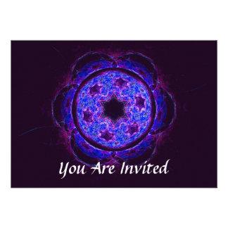 Magen David Alef Personalized Invite
