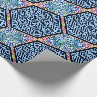 Magen David Geometric Wrapping Paper