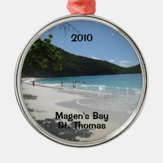 Magen's Bay, St. Thomas, 2010 Ornaments