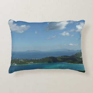 Magens Bay, St. Thomas Beautiful Island Scene Accent Pillow