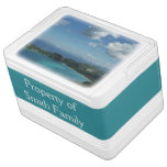 Magens Bay, St. Thomas Beautiful Island Scene Drink Cooler