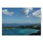 Magens Bay, St. Thomas Beautiful Island Scene Greeting Card