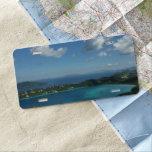 Magens Bay, St. Thomas Beautiful Island Scene License Plate