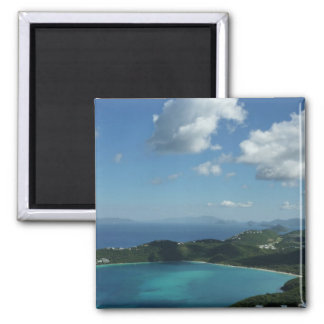 Magens Bay, St. Thomas Beautiful Island Scene Magnet