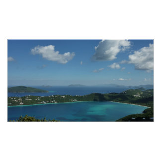 Magens Bay, St. Thomas Beautiful Island Scene Poster