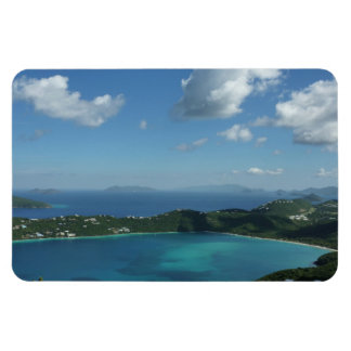 Magens Bay, St. Thomas Beautiful Island Scene Rectangular Photo Magnet
